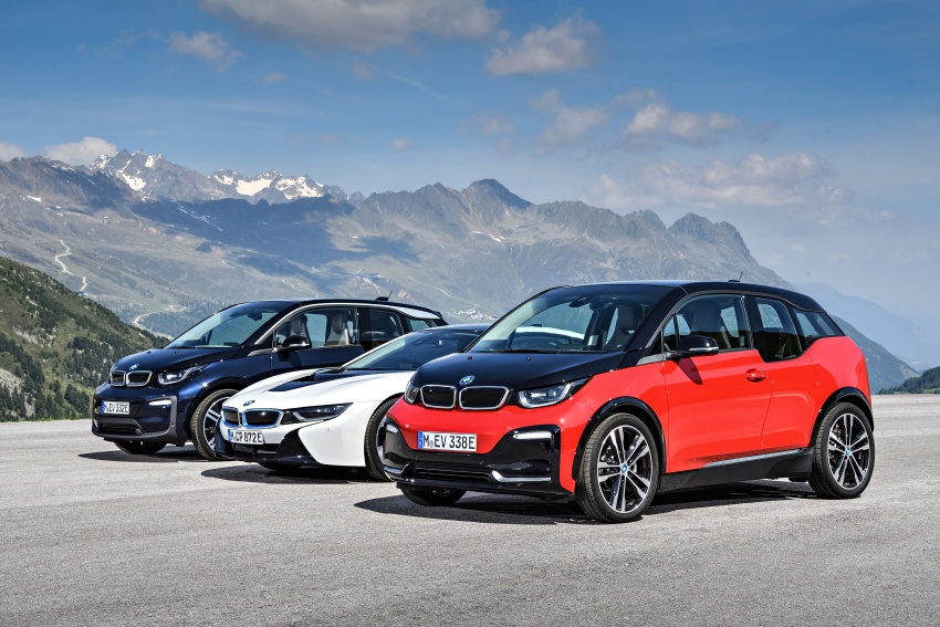 BMW i3 facelift unveiled with sportier 184 hp i3s model Image #704813