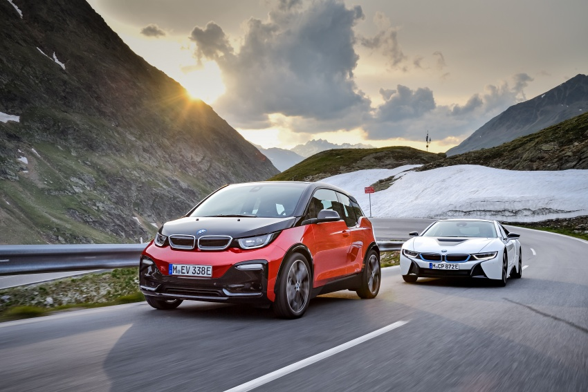 BMW i3 facelift unveiled with sportier 184 hp i3s model Image #704814