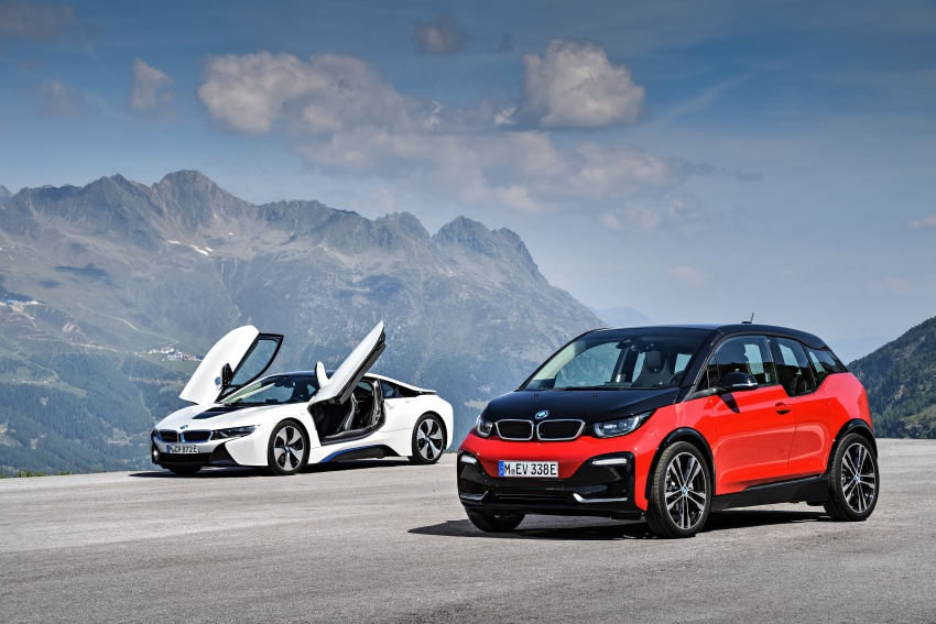BMW i3 facelift unveiled with sportier 184 hp i3s model Image #704815