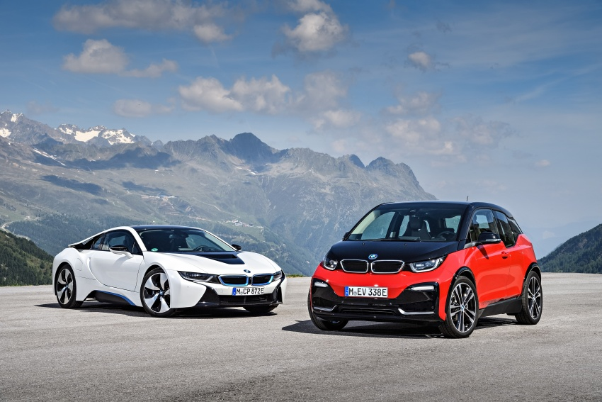 BMW i3 facelift unveiled with sportier 184 hp i3s model Image #704816
