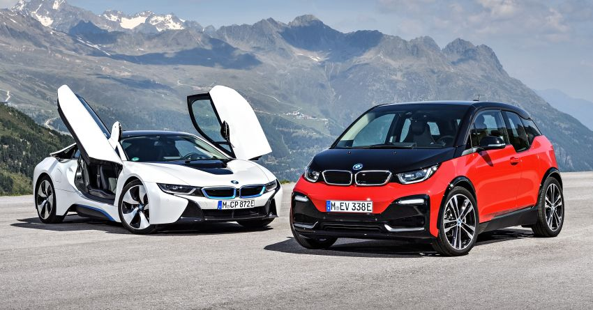 BMW i3 facelift unveiled with sportier 184 hp i3s model Image #704817