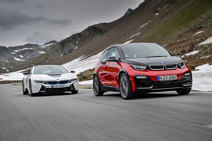 BMW i3 facelift unveiled with sportier 184 hp i3s model Image #704818