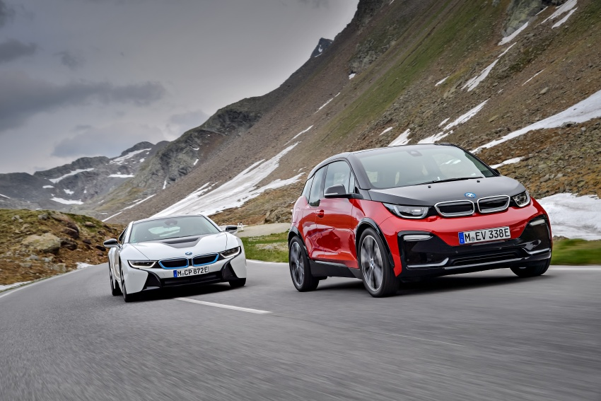 BMW i3 facelift unveiled with sportier 184 hp i3s model Image #704819