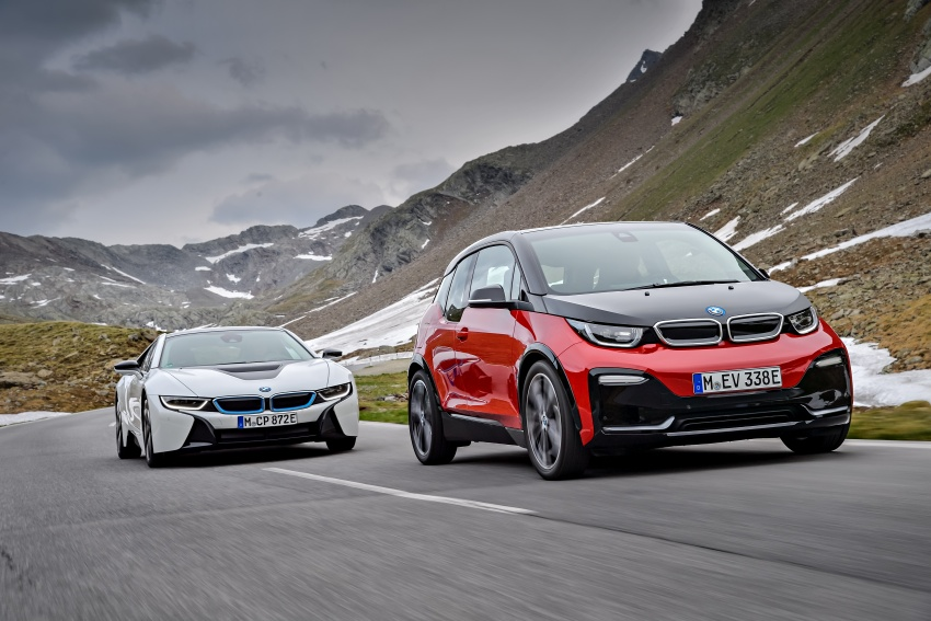 BMW i3 facelift unveiled with sportier 184 hp i3s model Image #704820