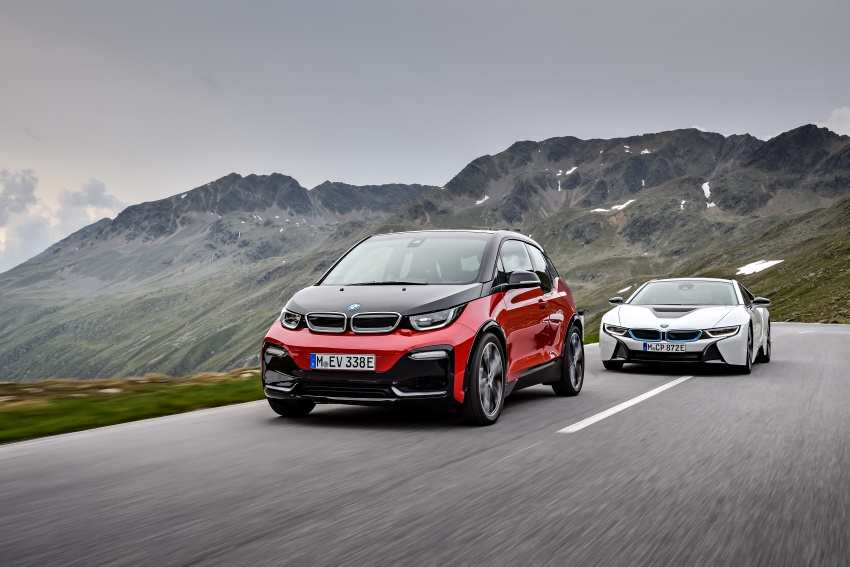 BMW i3 facelift unveiled with sportier 184 hp i3s model Image #704821