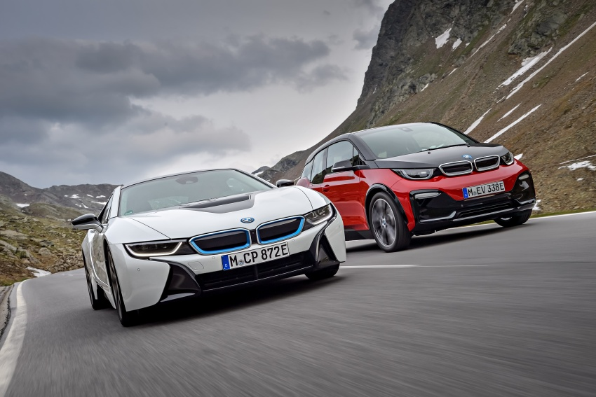 BMW i3 facelift unveiled with sportier 184 hp i3s model Image #704823