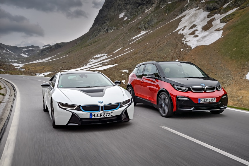 BMW i3 facelift unveiled with sportier 184 hp i3s model Image #704824
