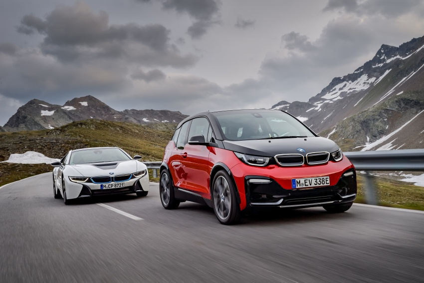 BMW i3 facelift unveiled with sportier 184 hp i3s model Image #704826
