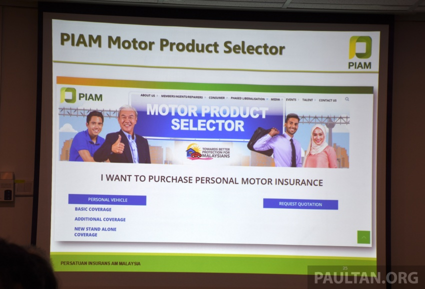 PIAM introduces Motor Product Selector – online platform offers easy shopping for motor insurance Image #702531