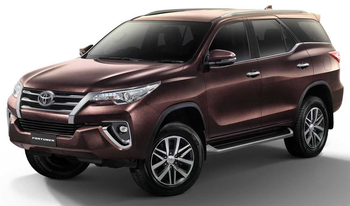 Toyota Fortuner Updated In Thailand