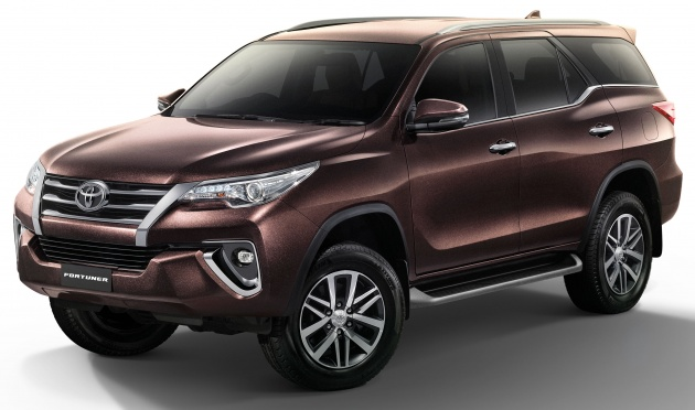 Toyota Fortuner Updated In Thailand New 2 4v 4wd Model Ed Penger Seat Rear Disc Brakes