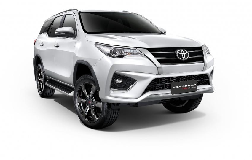 Toyota Fortuner pasaran Thailand terima kemaskini Image #695062
