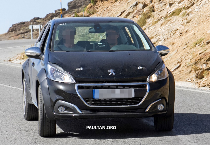 SPYSHOTS: Peugeot 1008 compact crossover on test? Image #704592