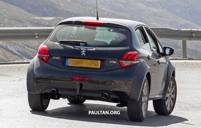 SPYSHOTS: Peugeot 1008 compact crossover on test? Image #704602
