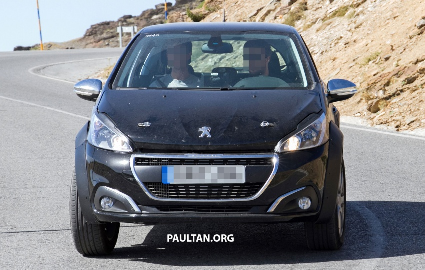 SPYSHOTS: Peugeot 1008 compact crossover on test? Image #704593