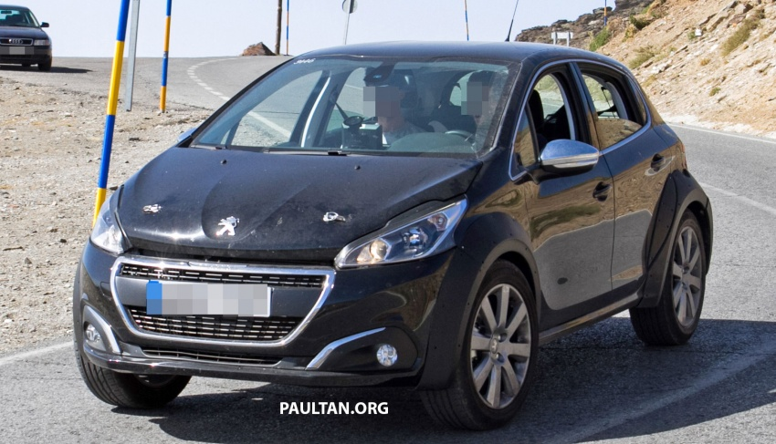 SPYSHOTS: Peugeot 1008 compact crossover on test? Image #704594