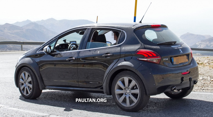 SPYSHOTS: Peugeot 1008 compact crossover on test? Image #704598