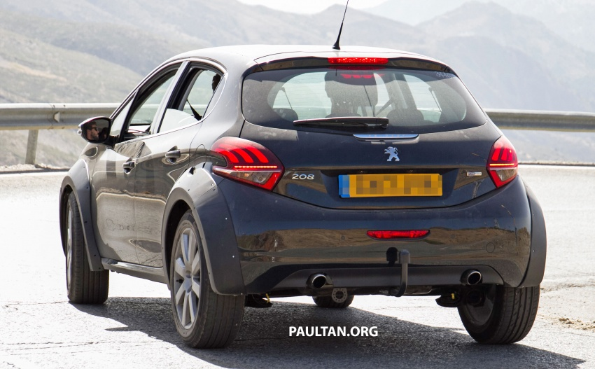 SPYSHOTS: Peugeot 1008 compact crossover on test? Image #704599