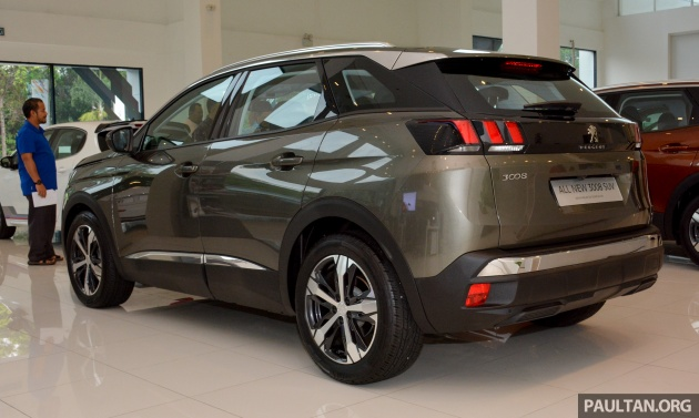 2017 peugeot 3008 suv in malaysia - 1.6 litre turbo engine, 165 hp