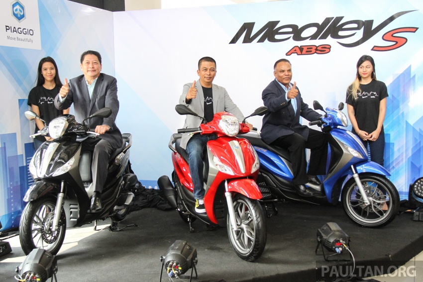 2017 Vespa S 125 i-GET and Piaggio Medley S 150 ABS launched – RM12,603 and RM18,327, respectively Image #695451