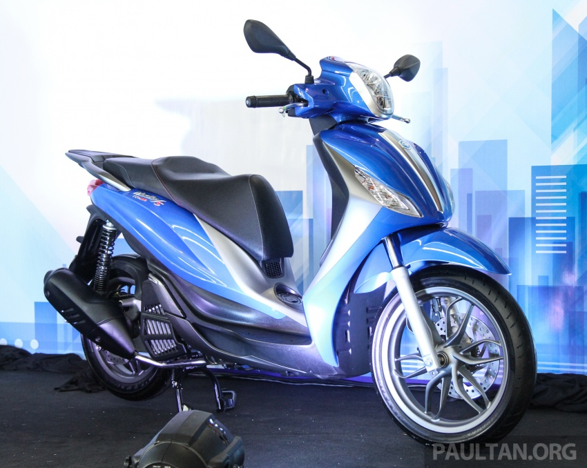 2017 Vespa S 125 i-GET and Piaggio Medley S 150 ABS launched – RM12,603 and RM18,327, respectively Image #695477