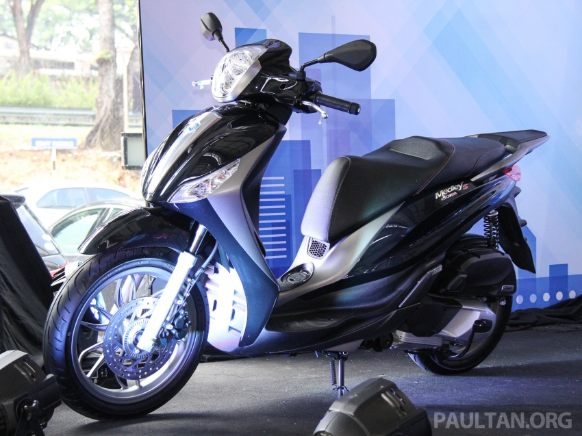 2017 Vespa S 125 i-GET and Piaggio Medley S 150 ABS launched – RM12,603 and RM18,327, respectively Image #695478
