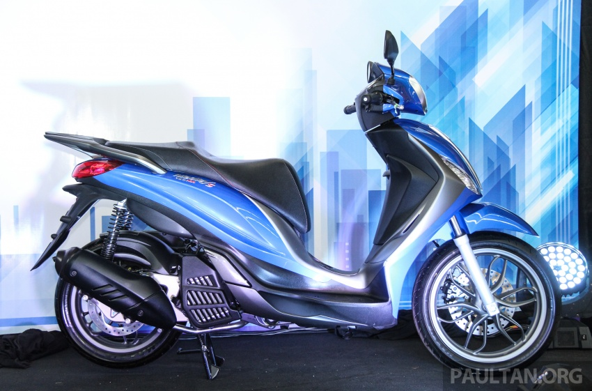 2017 Vespa S 125 i-GET and Piaggio Medley S 150 ABS launched – RM12,603 and RM18,327, respectively Image #695479