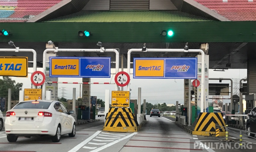 RFID Tag gateless gantry toll system for electronic toll collection to be implemented from January 2018 Image #700018