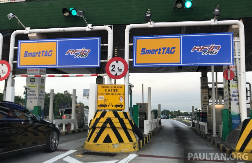 RFID Tag gateless gantry toll system for electronic toll collection to be implemented from January 2018 Image #700019