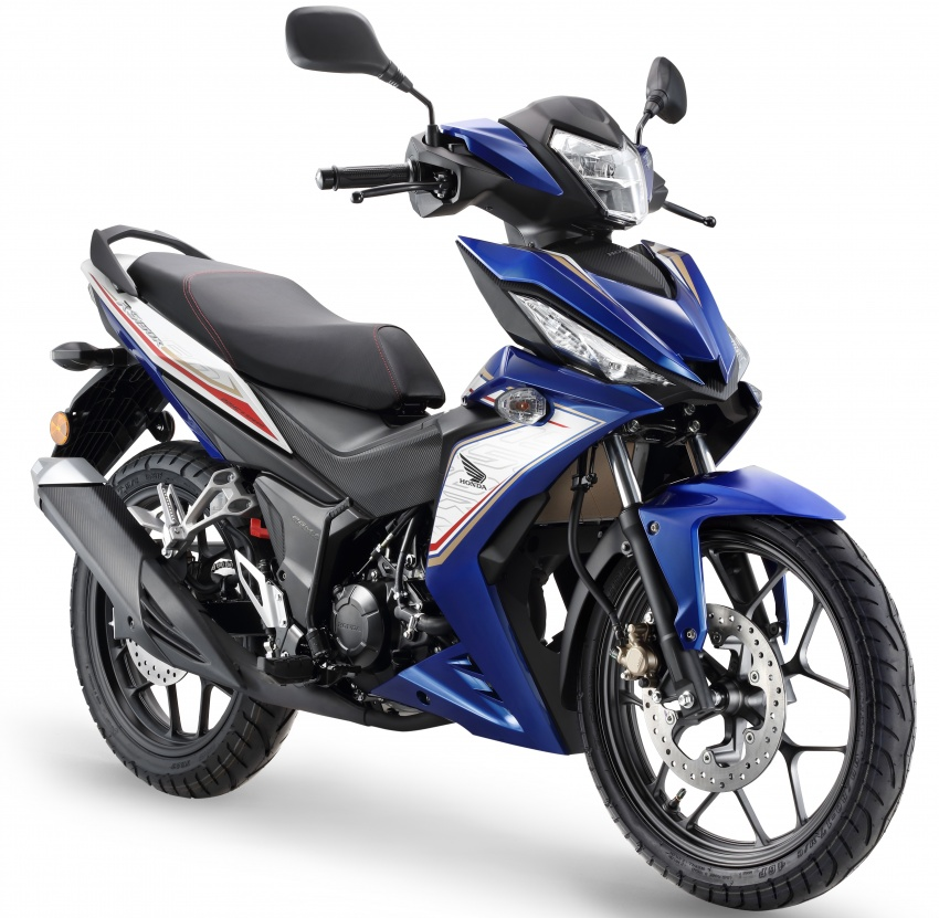 2017 Honda RS150R  in new colours – from  RM8,478 Image #693528