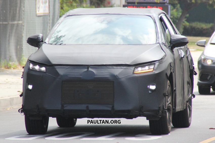 SPYSHOTS: Lexus RX with three-row seating tested Image #702506