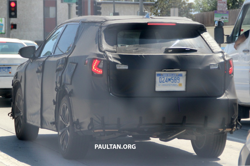 SPYSHOTS: Lexus RX with three-row seating tested Image #702514