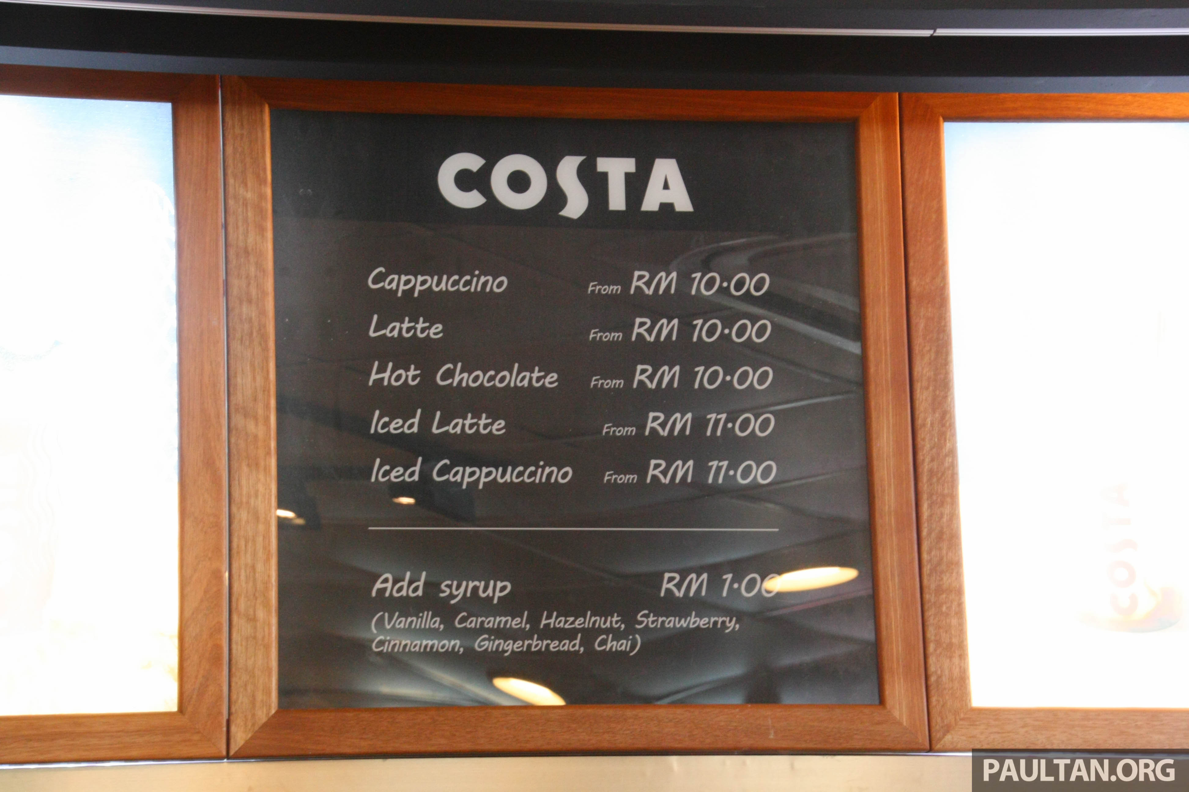 how to use costa coffee machine malaysia