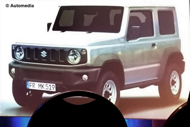4th Generation Suzuki Jimny Coming In 2018 Japanese Talk