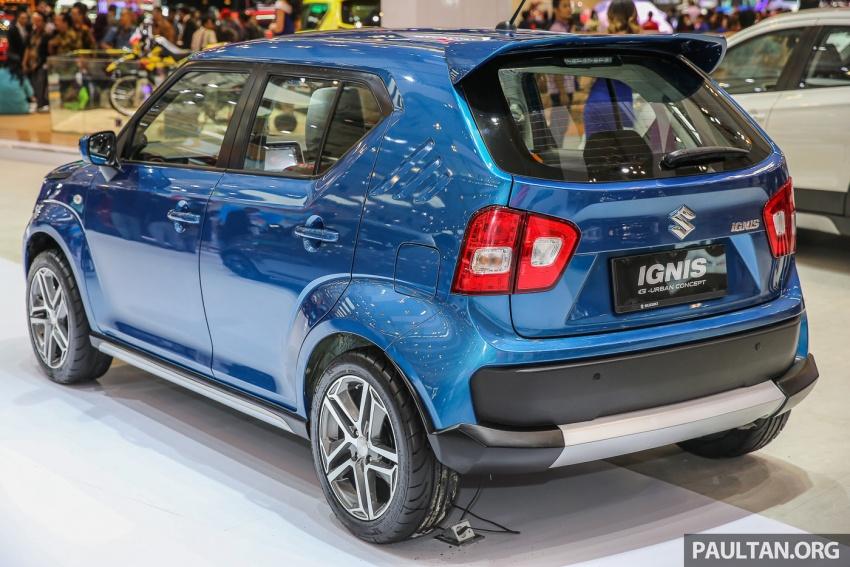 GIIAS 2017: Suzuki Ignis – tiga model konsep ditunjuk Image #697185