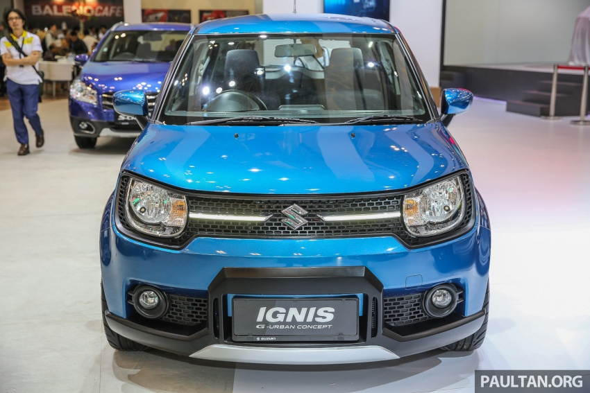 GIIAS 2017: Suzuki Ignis – tiga model konsep ditunjuk Image #697186