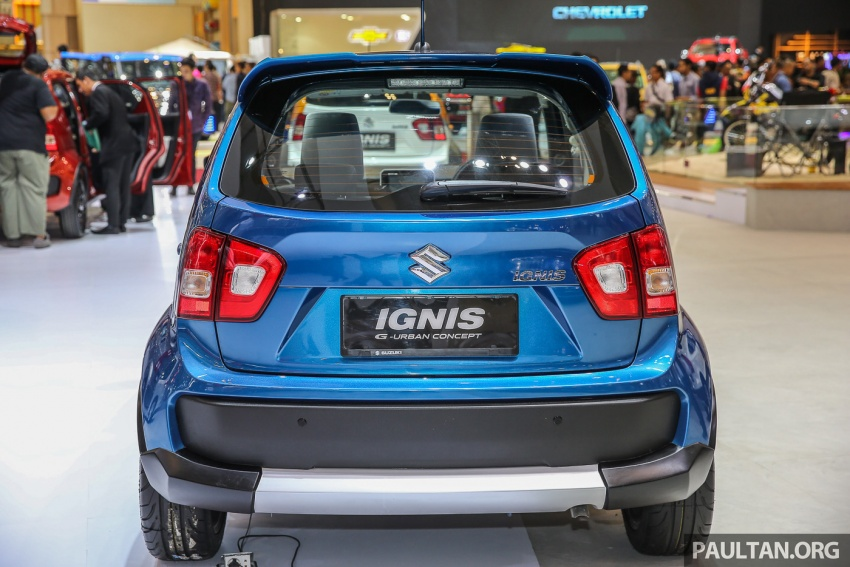 GIIAS 2017: Suzuki Ignis – tiga model konsep ditunjuk Image #697188