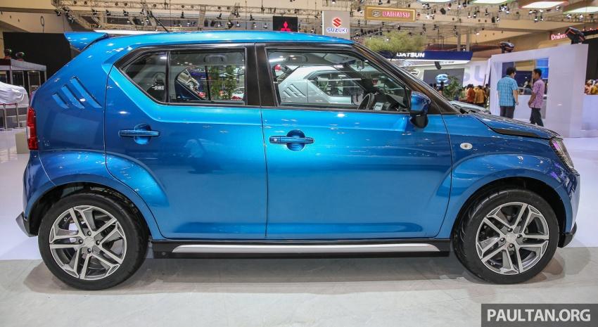 GIIAS 2017: Suzuki Ignis – tiga model konsep ditunjuk Image #697189