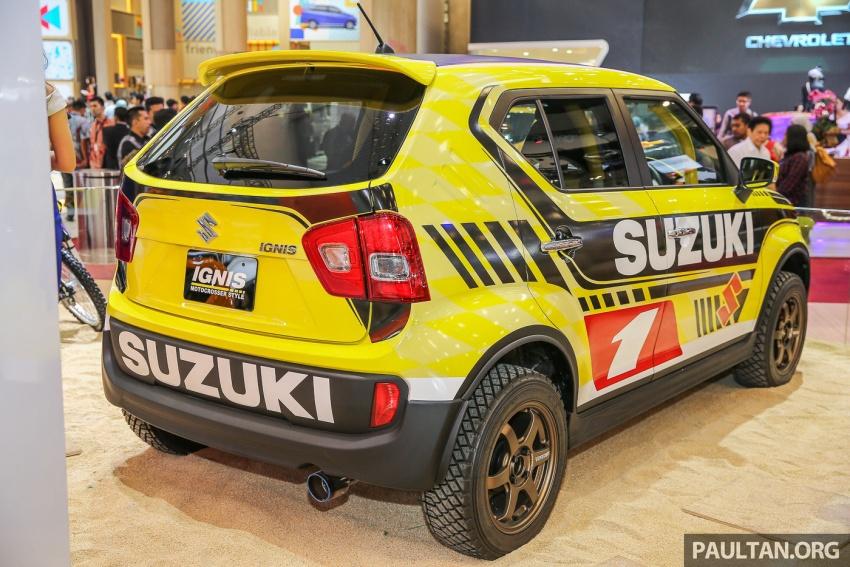GIIAS 2017: Suzuki Ignis – tiga model konsep ditunjuk Image #697200