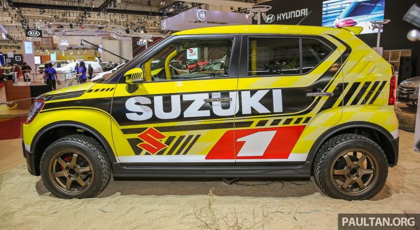 GIIAS 2017: Suzuki Ignis – tiga model konsep ditunjuk Image #697204