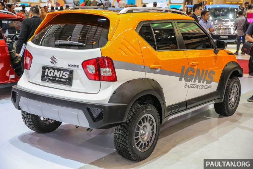 GIIAS 2017: Suzuki Ignis – tiga model konsep ditunjuk Image #697214
