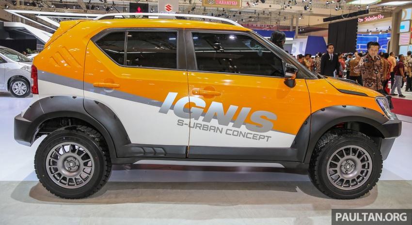 GIIAS 2017: Suzuki Ignis – tiga model konsep ditunjuk Image #697220