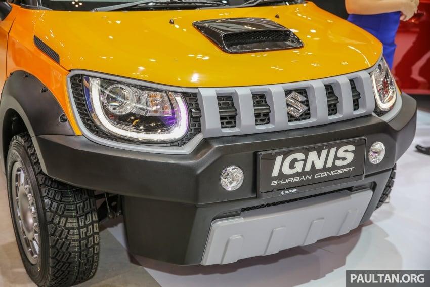 GIIAS 2017: Suzuki Ignis – tiga model konsep ditunjuk Image #697222