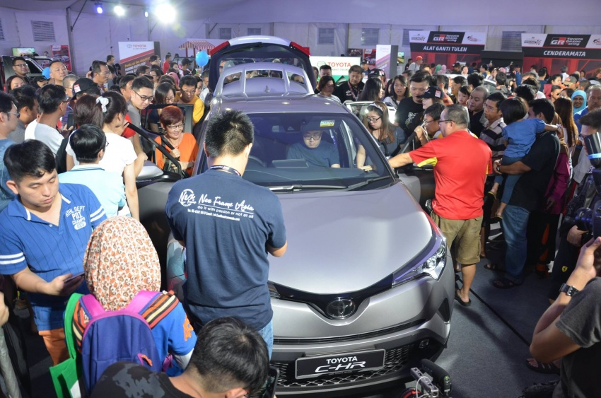 Toyota C-HR now on display at Batu Kawan Stadium Image #697640