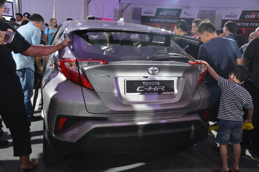 Toyota C-HR now on display at Batu Kawan Stadium Image #697641