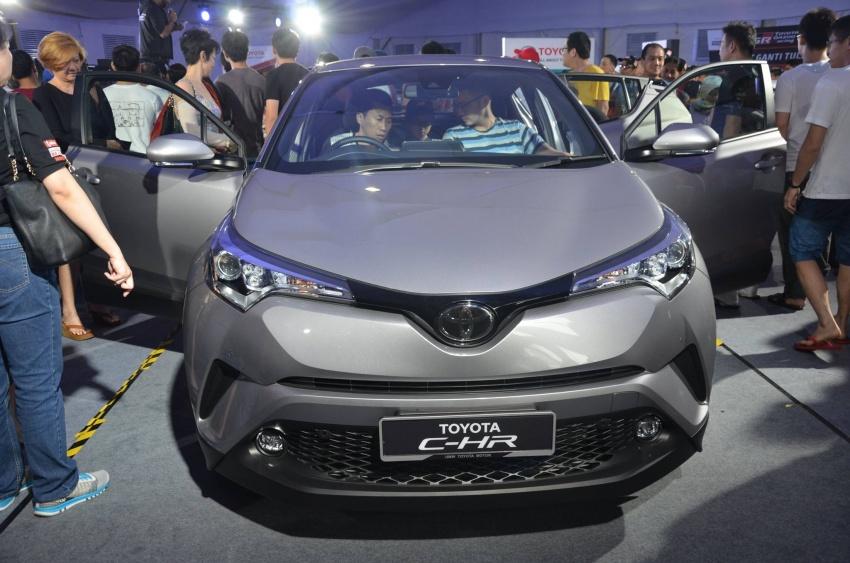 Toyota C-HR now on display at Batu Kawan Stadium Image #697643