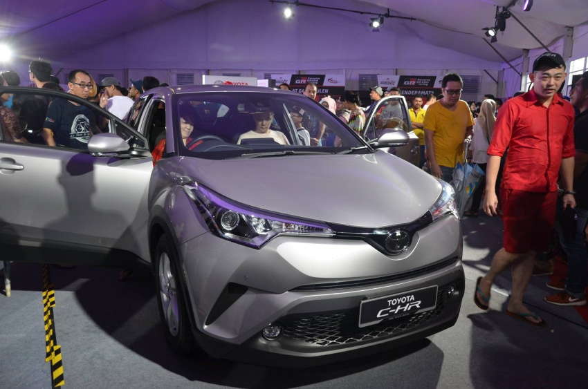 Toyota C-HR now on display at Batu Kawan Stadium Image #697644