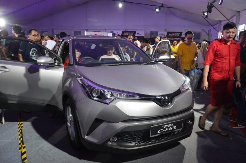 Toyota C-HR now on display at Batu Kawan Stadium Image #697644