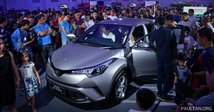 Toyota C-HR now on display at Batu Kawan Stadium Image #697638