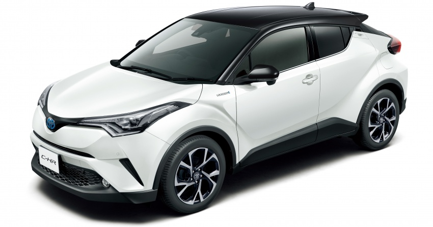 Toyota C-HR gets two-tone exterior colours in Japan Image #692519
